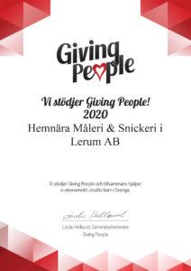 Giving people diplom